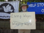 Living Wages, not Waging Wars